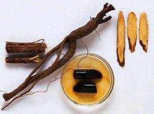 شیرین بیان Glycyrrhiza glabra