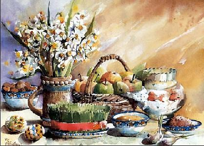 سبزه هفت سین گیاهان دارویی