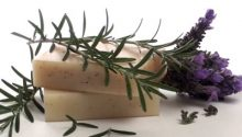 Lavender herbal soap صابون گیاهی اسطوخودوس