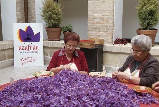 تمیز کردن زعفران