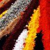 ادویه ها رنگ های طبیعی (1)