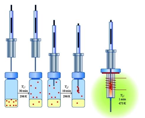 ریز استخراج با فاز جامد (SPME)