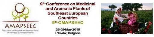 نهمین کنفرانس گیاهان دارویی و معطر کشورهای جنوب شرق اروپا
