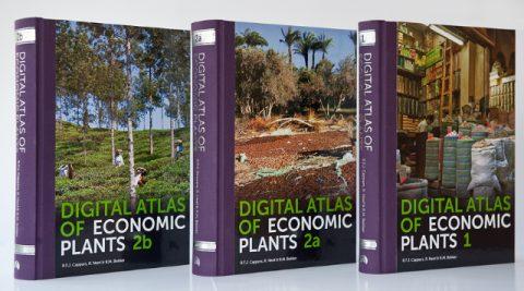 مجموعه کتاب های اطلس تصاویر دیجیتال گیاهان اقتصادی